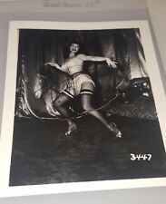BETTIE PAGE PIN-UP ORIGINAL PHOTO FROM VINTAGE IRVING KLAW NEGATIVE #3447