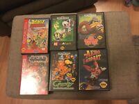 Sega Genesis Games Complete Lot (Aero The Acro-Bat, Sub-Terrania, Etc.)