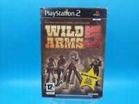 jeu video sony playstation 2 neuf wild arms 5 / blister BE