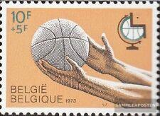 Belgien 1719 (kompl.Ausg.) postfrisch 1973 Weltmeisterschaft im Basketball