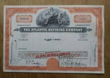 The Atlantic Refining Company Stock Certificate from 1966 number A0292978
