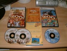 ZOO TYCOON 2 ZOOKEEPER COLLECTION + MARINE MANIA... PC CD ROM GAME