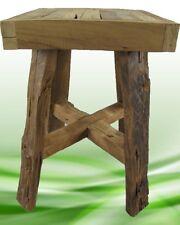 HOCKER ECKIG TEAK Möbel & Wohnen Tisch Dekoration Möbel Sitzbänke & Hocker