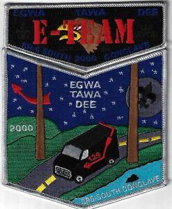 OA Egwa Tawa Dee Lodge 129 2000 South Conclave S29&X16 Flap Set GRY Bdr. GA [MX-