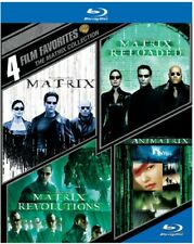 4 Film Favorites The Matrix Collection BLURAY Reloaded Revolutions