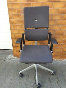 Steelcase Please V2,Bürodrehstuhl, Antrazith, gebraucht