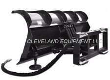 "108"" Cid Roll Top Snow Plow Attachment SkidSteer Loader Hydraulic Angle Blade 9'"