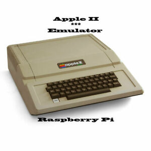 Apple II ~ Raspberry Pi emulator, with great software collection