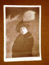 Teatro Parigi nel 1910 Chantecler Edmondo Rostand A. Leriche (Gallina faraona)