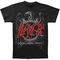 Slayer Black Eagle Pentagram Gothic Heavy Metal Band Punk Music T Shirt S-2Xl