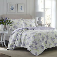 Laura Ashley 221050 Keighley Lilac Quilt SetLilacTwin Twin
