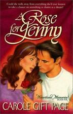 Heartland Memories: A Rose for Jenny No. 5 by Carole G. Page (1999, Paperback)