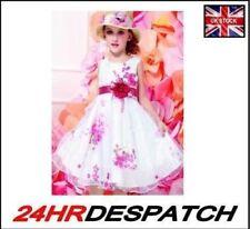 Vestidos de niña de 2 a 16 años sin marca color principal blanco