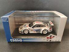 EBBRO PORSCHE 911 GT3 RSR #77 2ND LE MANS 24HRS 2004 1/43 DIECAST NO SPARK IXO