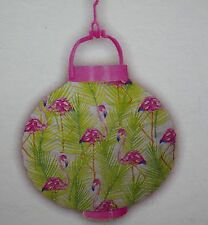 Pink Flamingo Paper Lantern Light Shade New