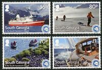Süd-Georgien South Georgia 2016 IAATO Tourismus Schiff Landschaften ** MNH