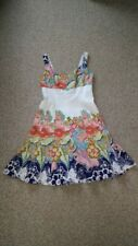 Nine West Dress A-Style Fit and Flare Summer Floral~Size 8