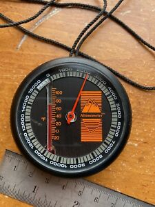 Sun Battery Free Altimometer Altimeter Barometer Thermometer Mount Climbing USA