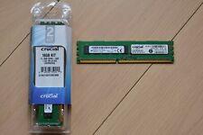 Crucial 32GB (4x 8GB) DIMM PC3-12800 (DDR3-1600) ECC Workstation Memory