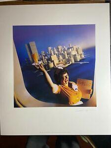 SUPERTRAMP Breakfast In America Album Art Print Lithograph SALE