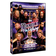 Official AEW All Elite Wrestling - Double Or Nothing 2020 Event 2 Disc DVD Set