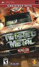 Twisted Metal: Head-On (Sony PSP, 2005) Game only in UMD case Fast Shipping