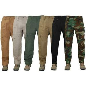 Mens Taclite Bottom Work Cargo Combat Forces Tactical Trousers