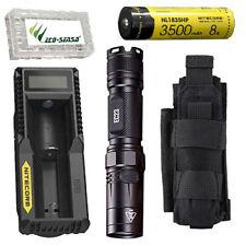 Nitecore EC23 Flashlight w/1x NL1835HP Battery & UM10 Charger +NCP30 Holster