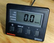 Autohelm Speed display