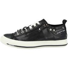 Diesel expo-ZIP low Women zapatos señora casual zapatillas Black y01829-pr402-t8013