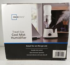 Mainstays Travel Size Humidifier No Filter Required & Quiet New Sealed