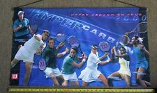 Wilson Tennis Racquet Ball Advertising Tour Banner Serena Venus Williams Poster