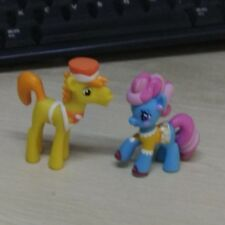 MY LITTLE PONY G4 Loose Mini Figure Mrs. Dazzle and Mr. Carrot Cake