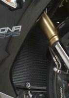 Triumph Daytona 675 2013 R&G Racing Radiator Guard RAD0145BK Black