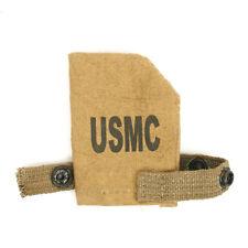 U.S. WWII Rifle Muzzle Cover- Marked USMC