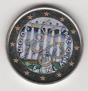 §2013B - 2 EURO COULEUR - FINLANDE  / PARLEMENT