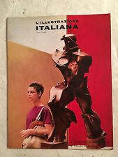 L'ILLUSTRAZIONE ITALIANA 7 7/1960 BIENNALE D'ARTE VENEZIA VIAGGIO FORESTA NERA