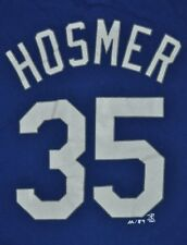 T-SHIRT L LARGE ERIC HOSMER KANSAS CITY ROYALS KC FIRST BASE SHIRT