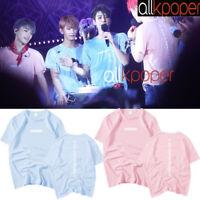 KPOP Seventeen T-shirt DIAMOND EDGE Concert Tshirt Letter Tee HOSHI THE8 DINO DK