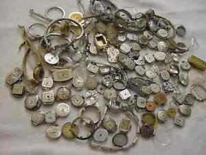 Lot of 60 + Vintage GOLD FD antique Art Deco Lady HAMILTON BULOVA watch watches