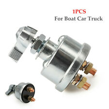 12V Battery Isolator Disconnect Cut Off Power Switch For Boat Car Truck Rotation