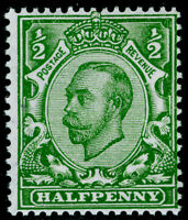 SG346 SPEC N6(1), ½d green, NH MINT. Cat £20. WMK ROYAL CYPHER (MULTIPLE)