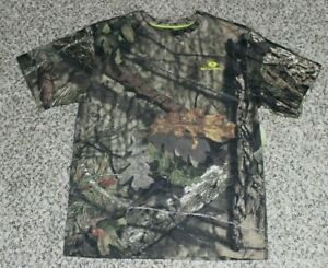 NEW Youth Boy's MOSSY OAK Break-Up Country Camo T-Shirt S L XL XXL Hunting Tee