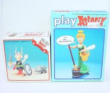 2x Toy Cloud PLAY ASTERIX + METHUSALIX Woman Comic Book Character Figure Set MIB