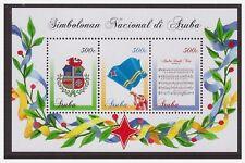 Aruba 2016 National symbol flag hymne S/S MNH