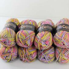 Sale Lot 8ballsx50g Baby Cotton Colorful shawl Hand Knitting Yarn Gray Yellow Pi