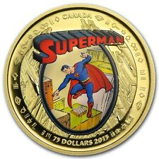 2013 Canada Proof Gold 75th Anniversary of Superman The Early Years
