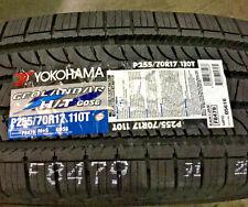 4 New 255 70 17 Yokohama Geolandar H/T G056 Tires