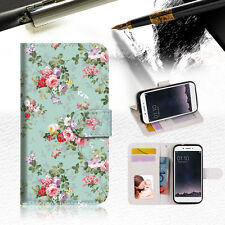 Royal Garden with paisle Phone Wallet TPU Case Cover For OPPO F1S-- A023