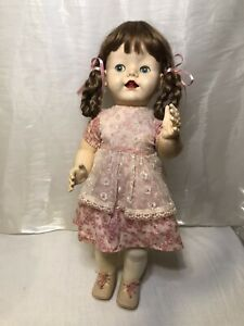 """1950s Pedigree Walker Doll 22"""" Made In England 3"""